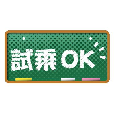 ナンバープレート【43】
